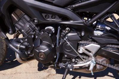 2018 Yamaha MT-09 engine