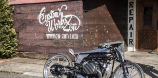 "Custom Works Zon ""Departed"" Custom BMW with 1800cc Boxer Prototype custom"
