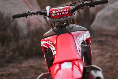 2019 Honda CRF250RX rental bars