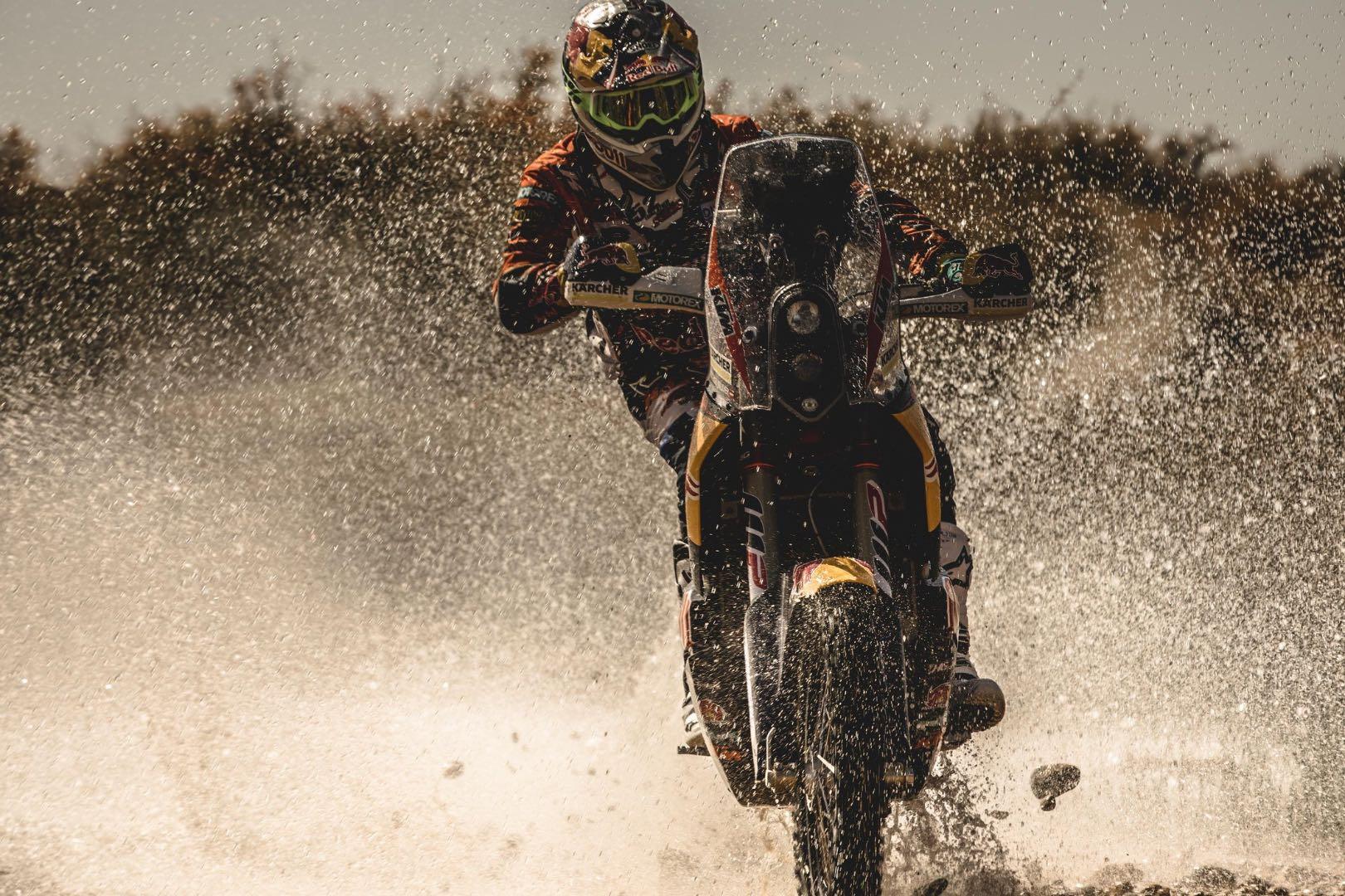 KTM's Matthias Walkner heads to Dakar Rally
