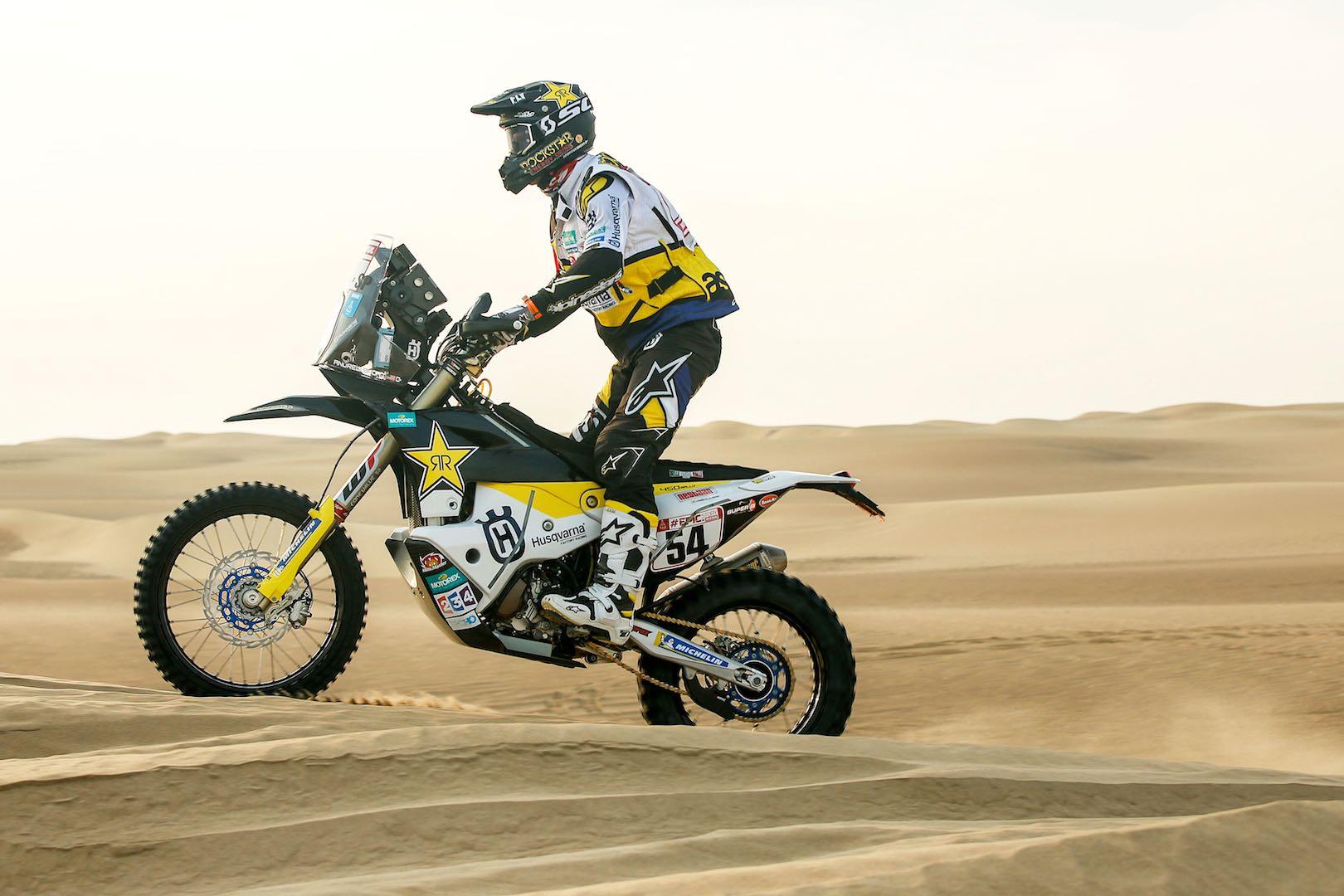 Husqvarna Andrew Short 2019 Dakar Rally Preview