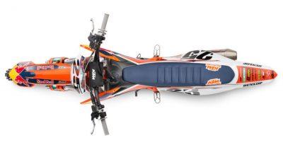 2019 KTM 450 SX-F Factory Edition profile