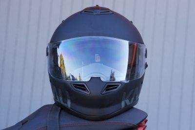 Kali Catalyst Motorcycle Helmet test
