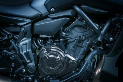 2018 Yamaha MT-07 engine power