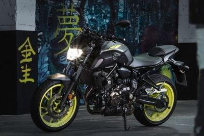 2018 Yamaha MT-07 price