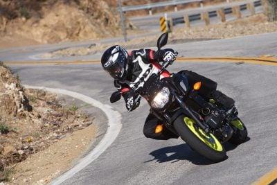 2018 Yamaha MT-07 suspension upgrades