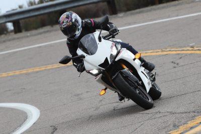 2019 Yamaha YZF-R3 test