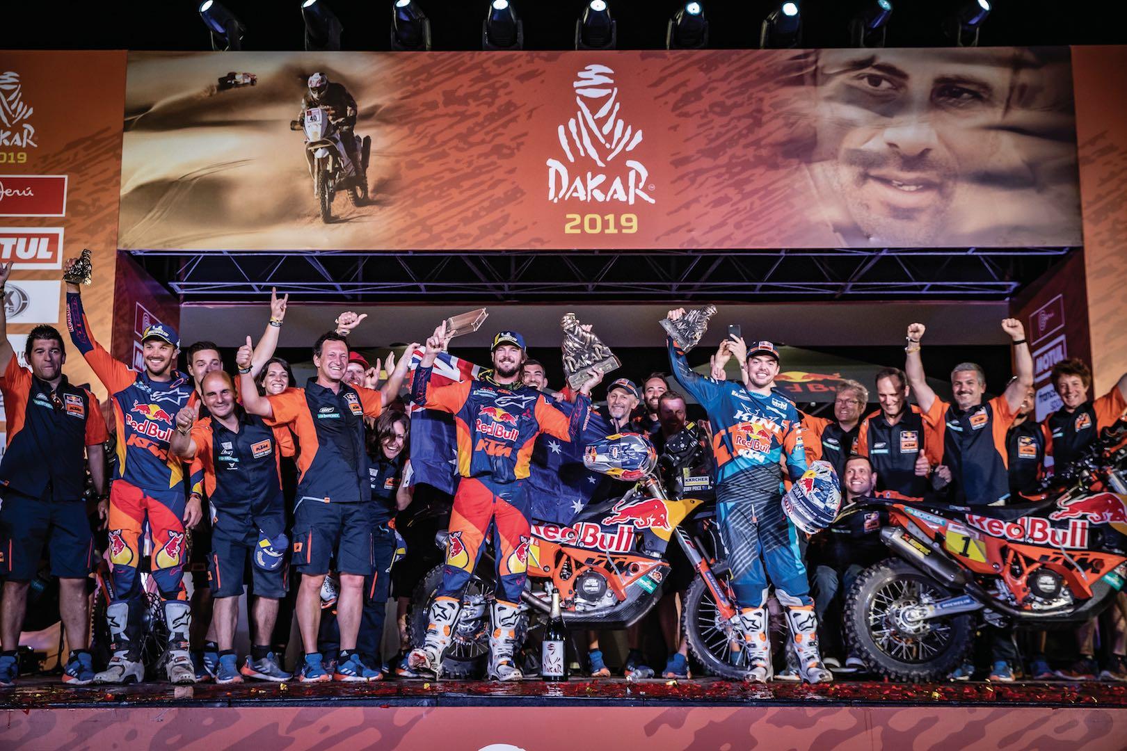 2019 Dakar Rally Results: KTM Podium