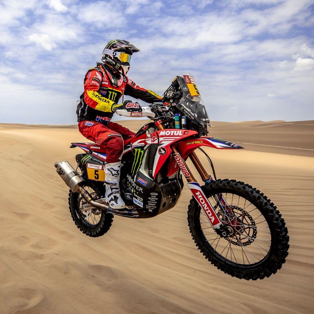 2019 Dakar Rally Stage 1 Results Motorcycles Hondas Barreda On