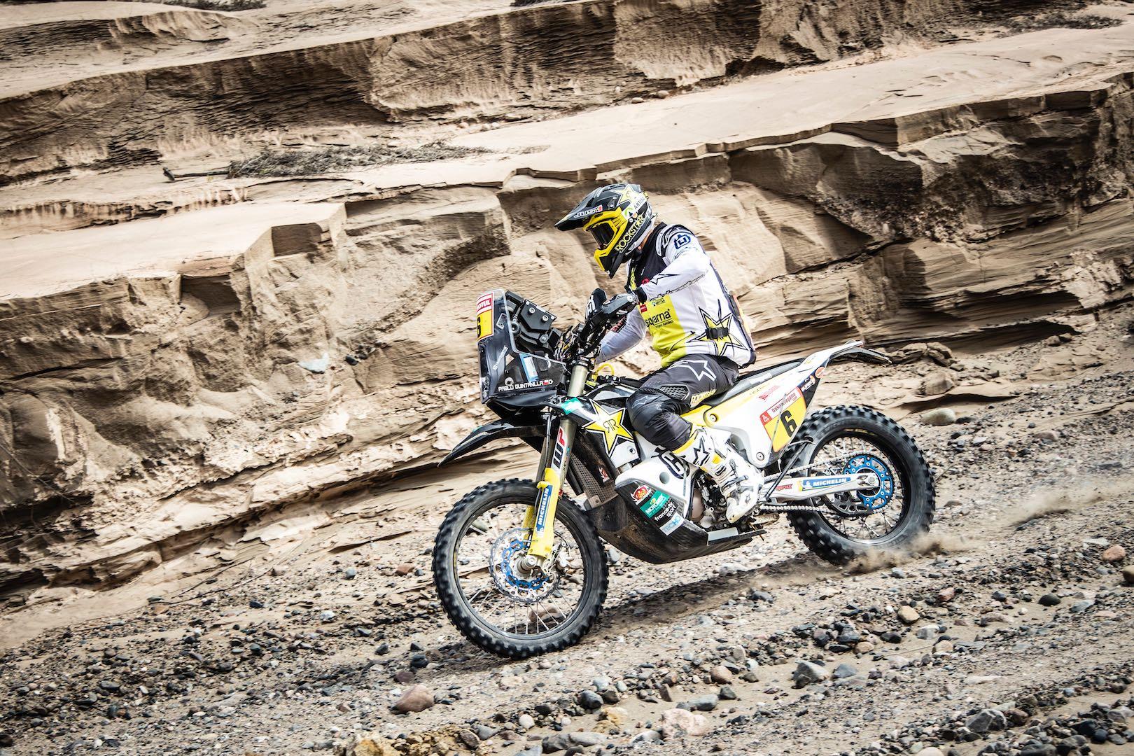 2019 Dakar Rally Stage 3 Husqvarna Pablo Quintanilla