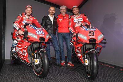 Mission Winnow Ducati MotoGP Team Domenicali