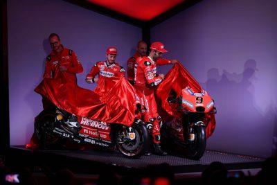 Mission Winnow Ducati MotoGP Team Riders