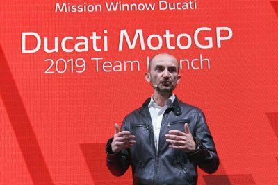 Mission Winnow Ducati MotoGP Team Claudio Domenicali