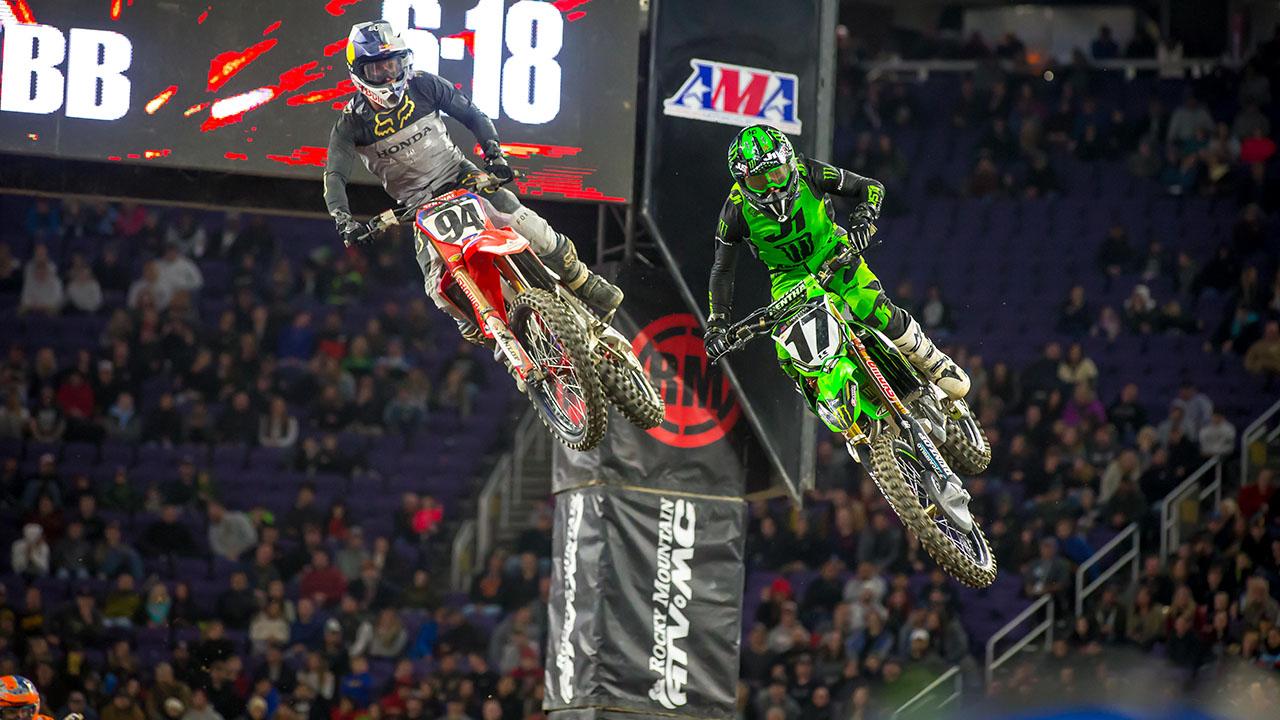2019 Minneapolis Supercross Results and Coverage - Roczen, Savatgy
