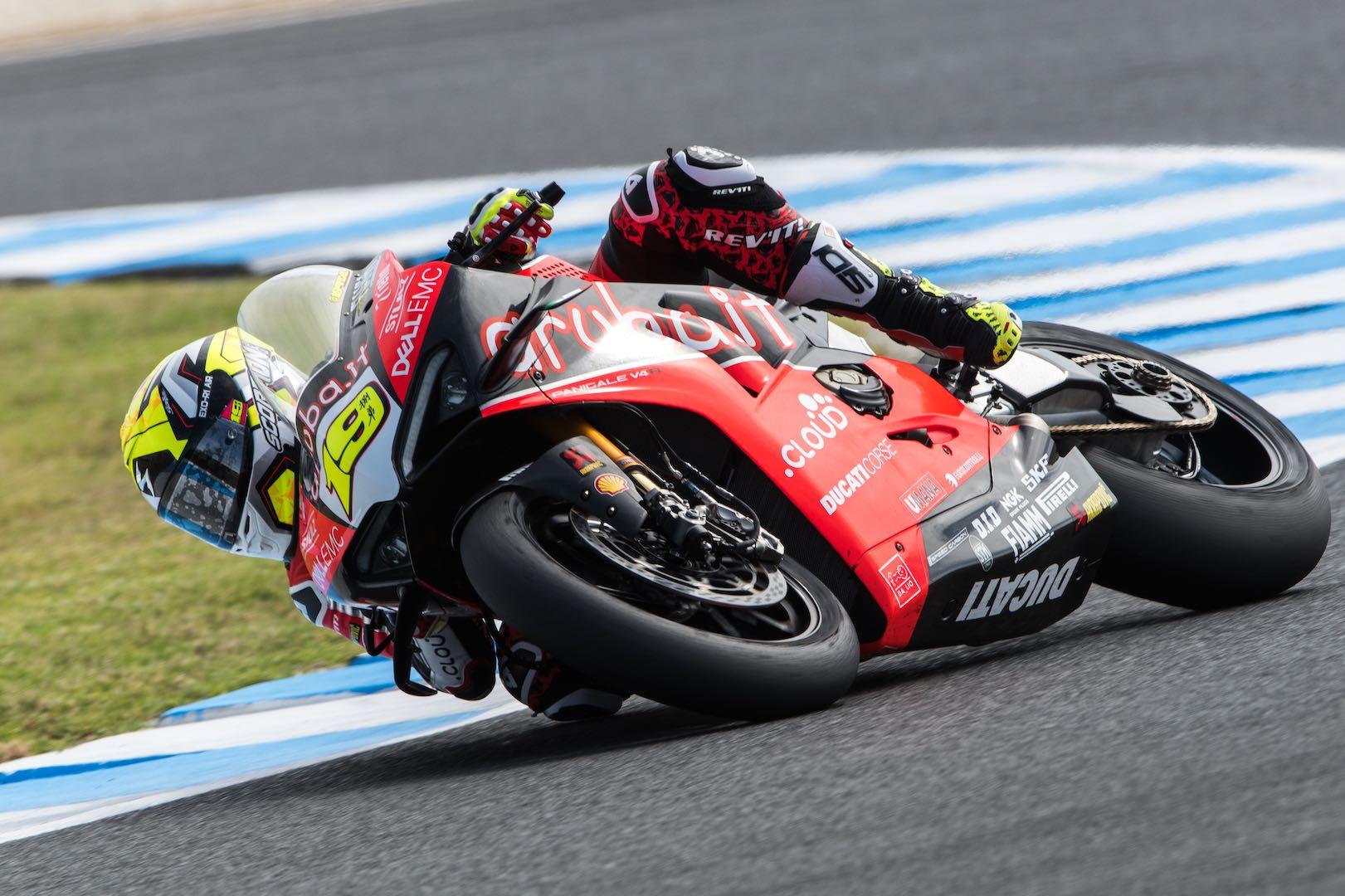 2019 Australia WorldSBK Test, Day 1: Ducati's Bautista Fastest by 0.4