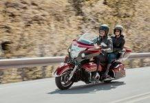 2019 Indian Roadmaster Elite touring model
