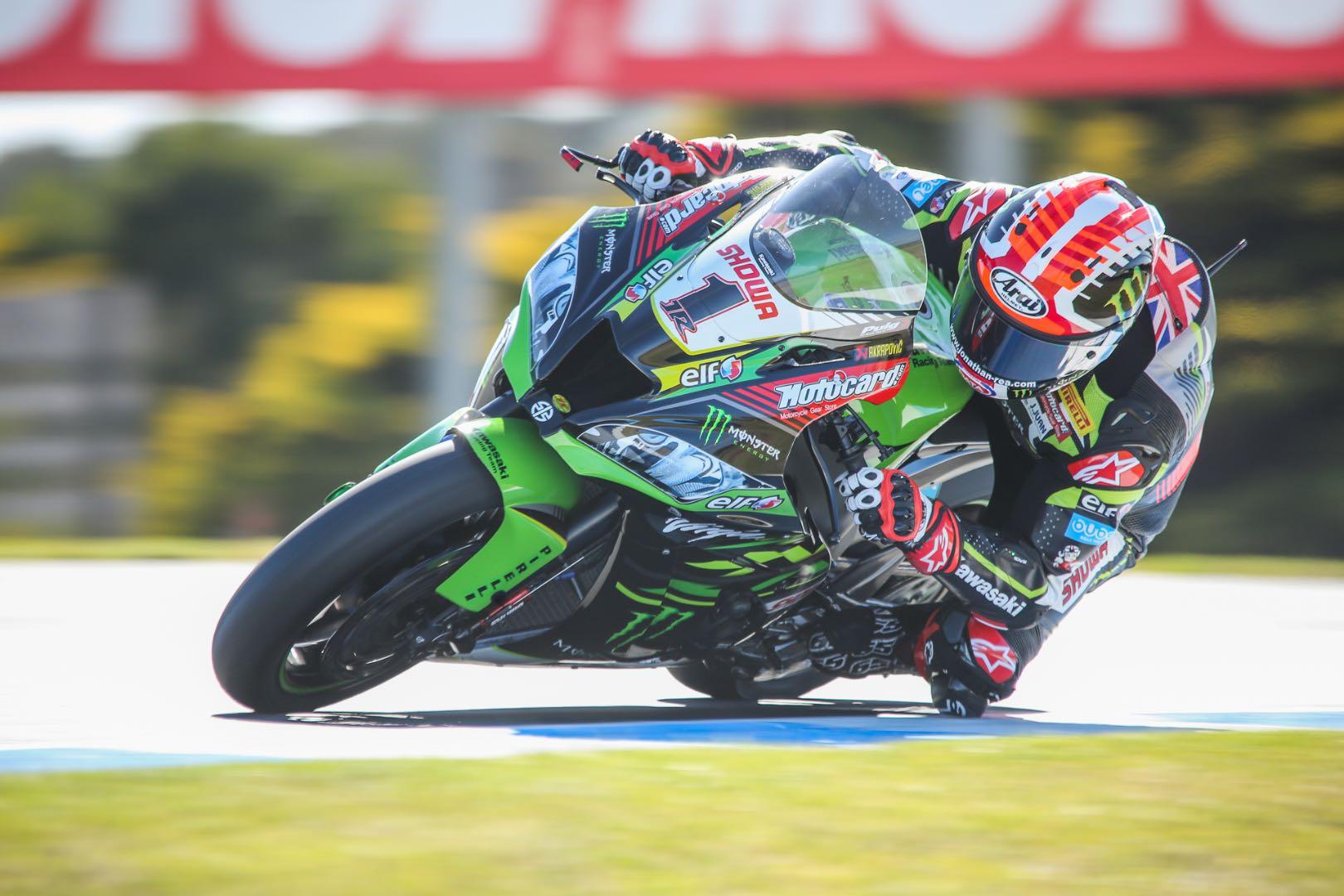 2019 Australia World Superbike Race 1 Results, Phillip Island kawasaki Jonathan Rea