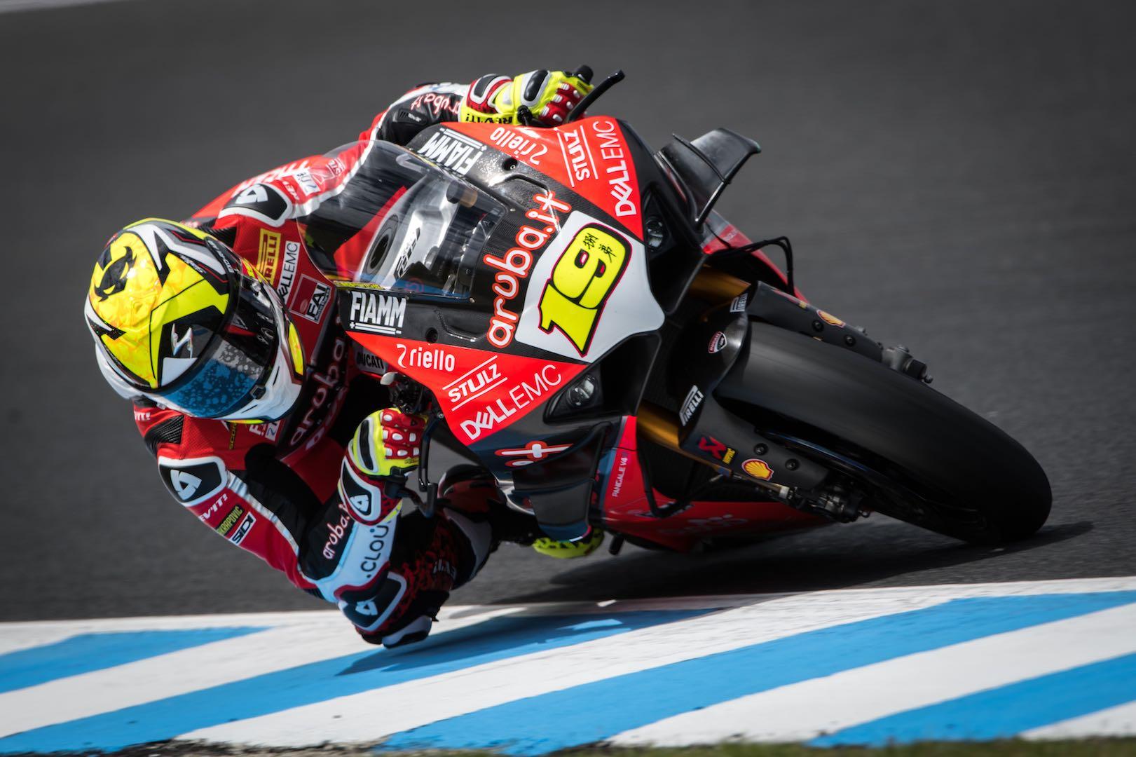 Ducati's Bautista Tops 2019 Australia World Superbike Test