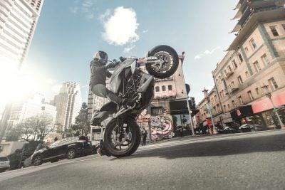 2019 Zero SR/F wheelie