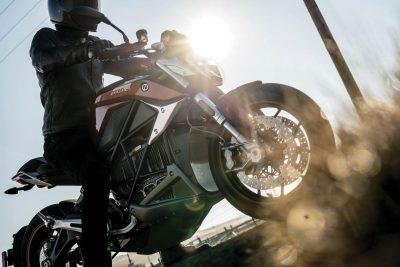 2019 Zero SR/F electric motorcycles