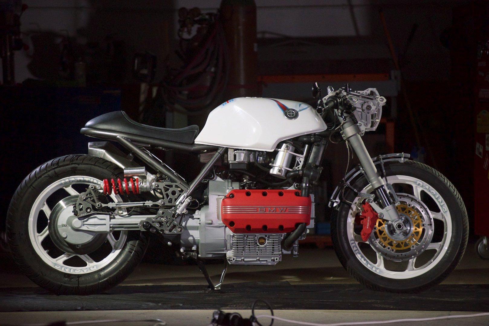 Custom BMW K 100: Gabi Nicolae's The Mechanik