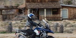 2019 BMW R 1250 GS Adventure Review - desert town