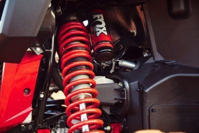 2019 Honda Talon 1000S and Talon 1000R Review - Fox Podium shocks