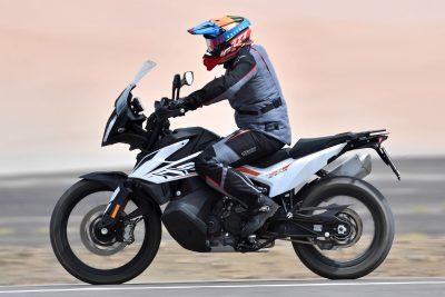 2019 KTM 790 Adventure street test