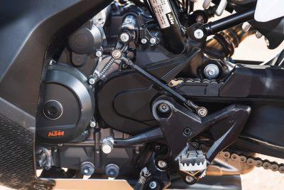 2019 KTM 790 Adventure engine