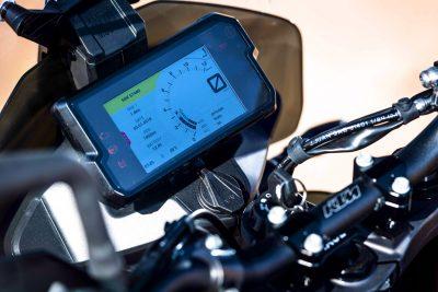 2019 KTM 790 Adventure gauges