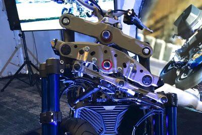2019 Yamaha Nike GT suspension