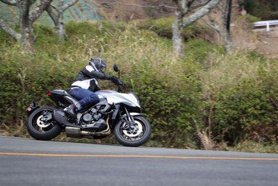 2020 Suzuki Katana test from Japan