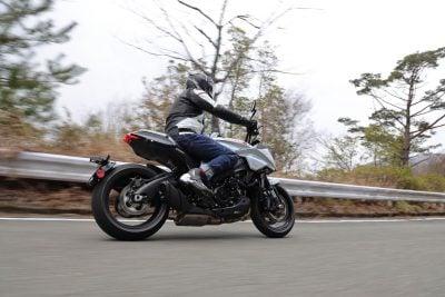 2020 Suzuki Katana Test