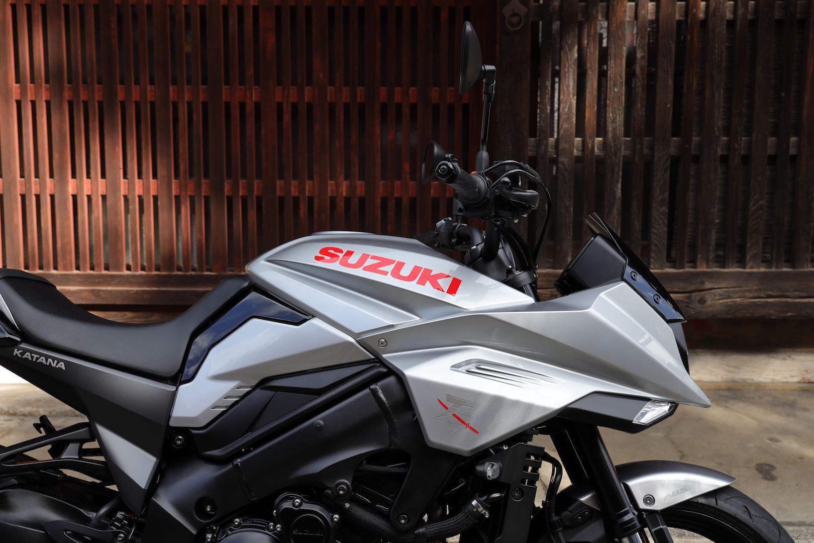 2020 Suzuki Katana styling
