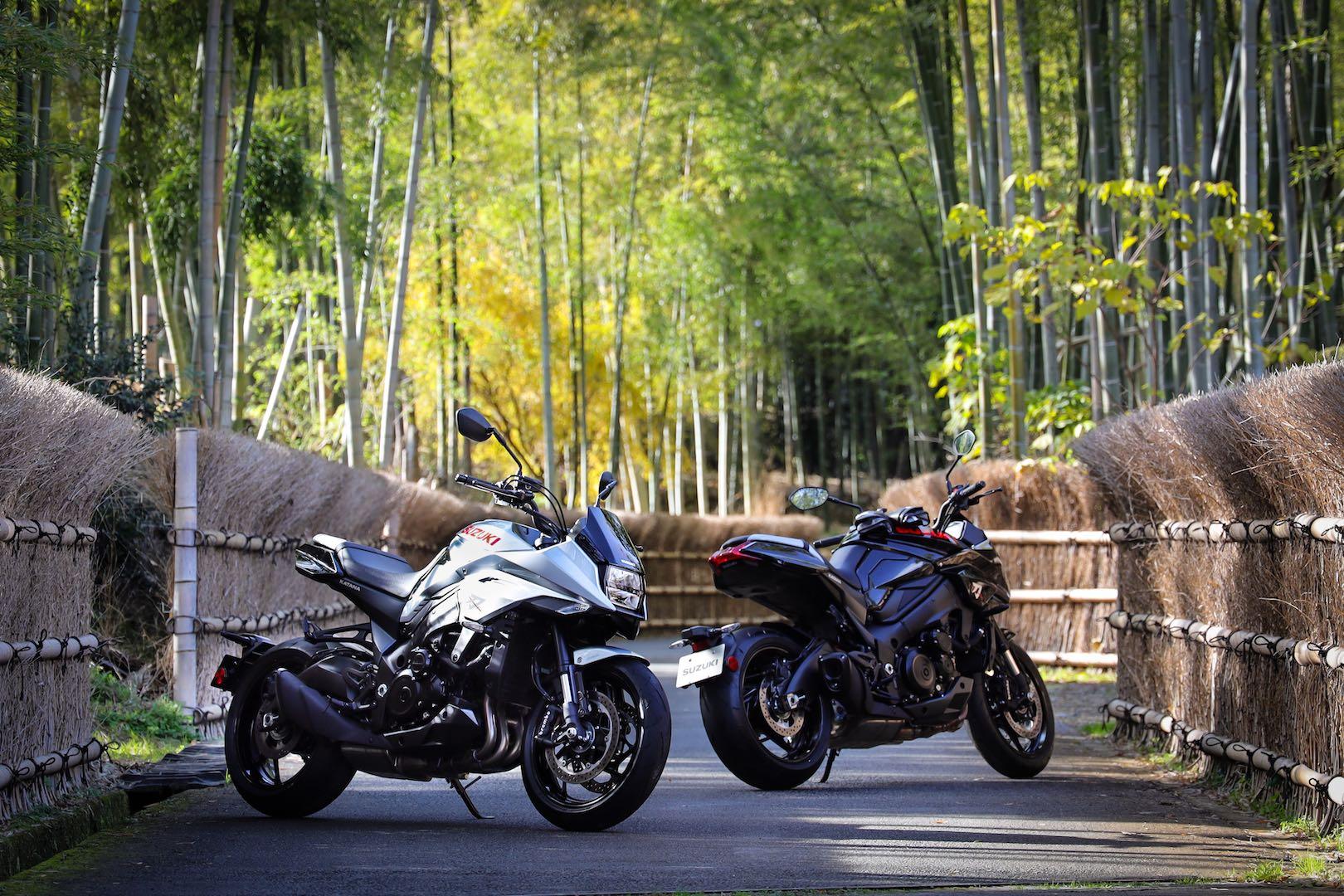 2020 Suzuki Katana in homeland