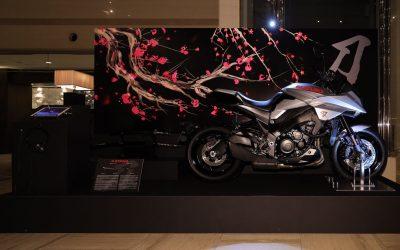 2020 Suzuki Katana in Brighton hotel