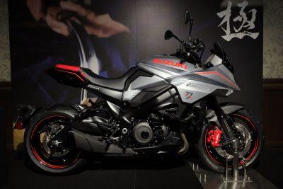 2020 Suzuki Katana accessorized
