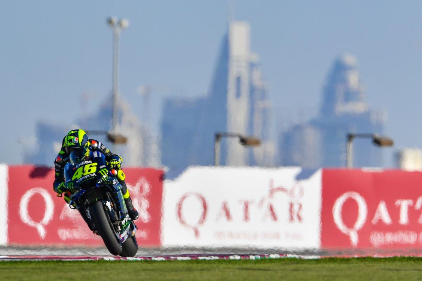 2019 Qatar MotoGP Friday Practice: Valentino Rossi