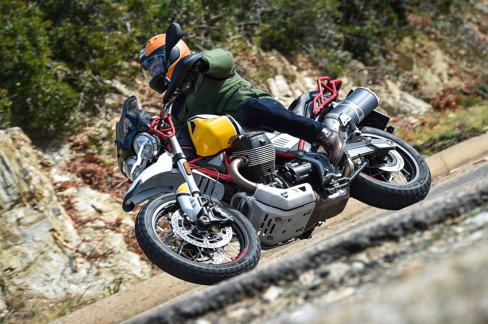 2020 Moto Guzzi V85 TT Adventure and V85 TT Review (22 Fast