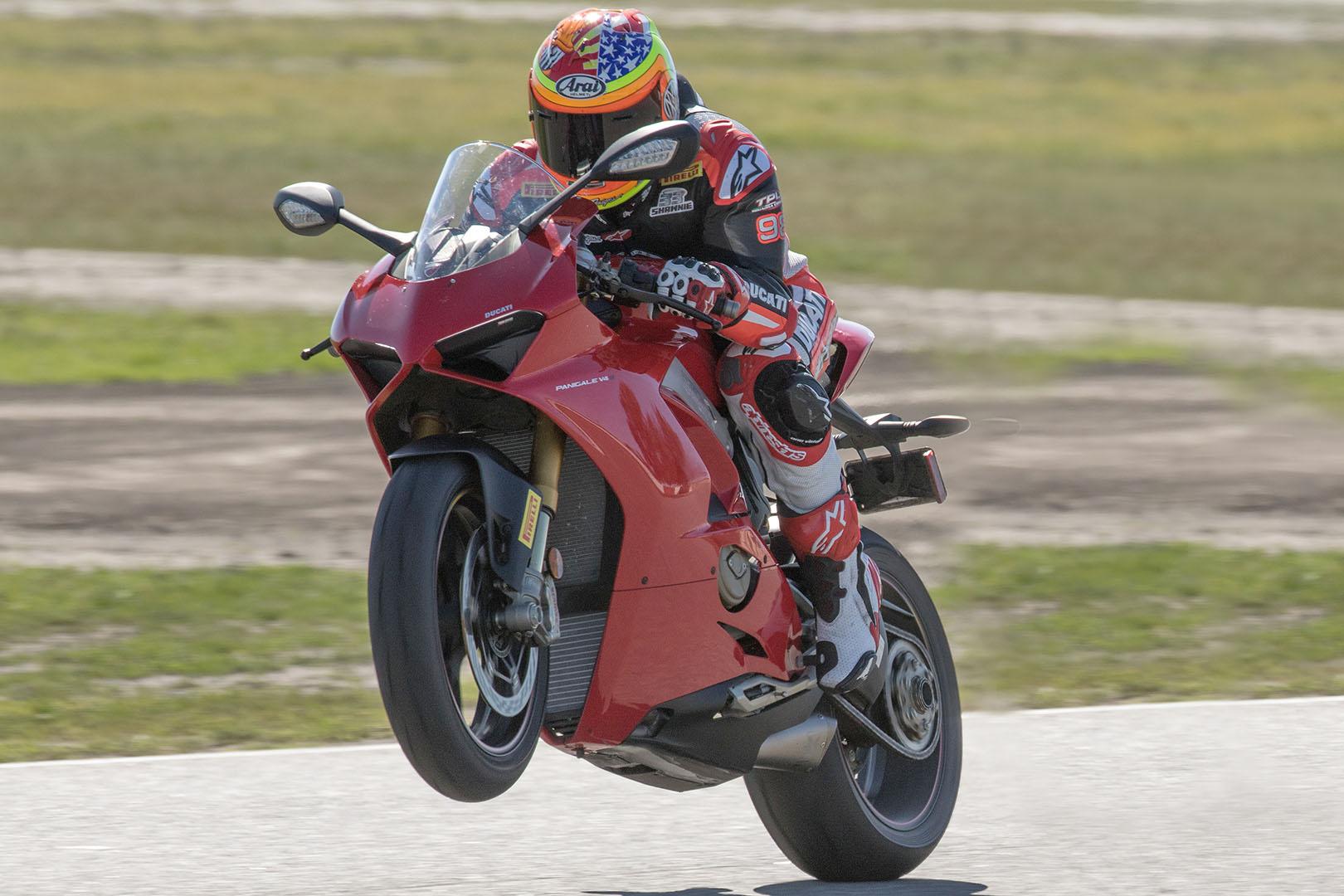 Pirelli Diablo Supercorsa TD Track Tire - Jake Zemke Ducati