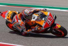 2019 Austin MotoGP Qualifying Honda's Marc Marquez