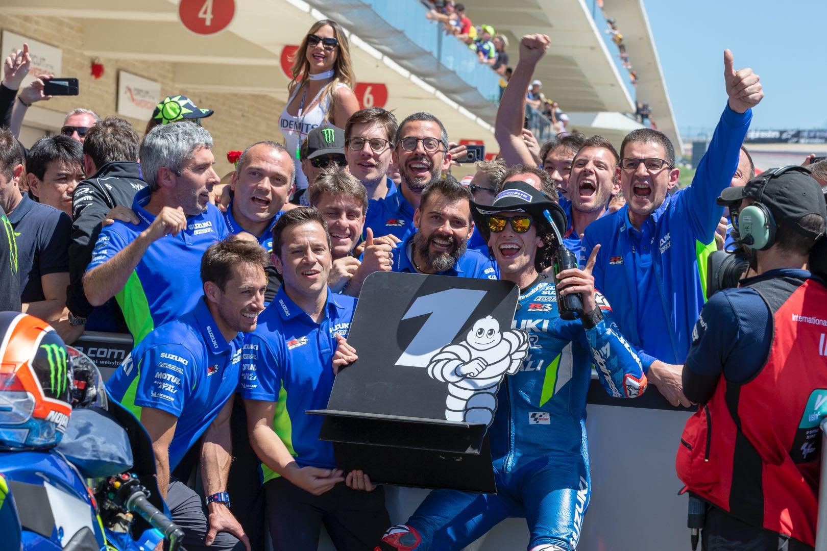 2019 Austin MotoGP Results Alex Rins