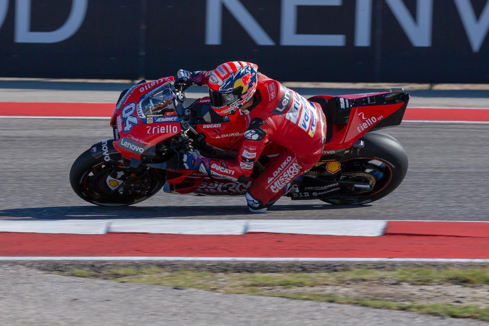 2019 Austin MotoGP Results Andrea Dovizioso