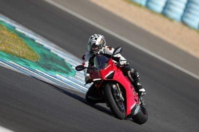 Bridgestone S22 Test Panigale V4 Ducati