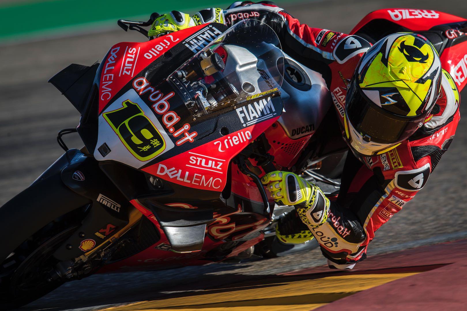 2019 Aragon WorldSBK: Bautista & Ducati