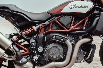2019 Indian FTR 1200 close up