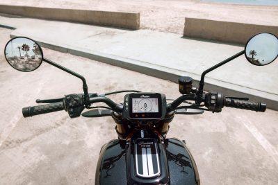 2019 Indian FTR 1200 gauges