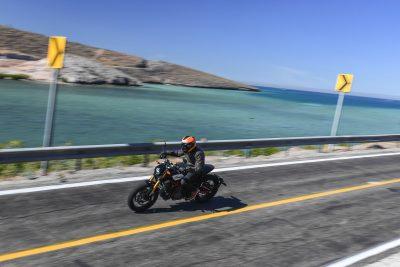 2019 Indian FTR 1200 ride by lake