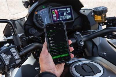 2019 Kawasaki Versys 1000 app