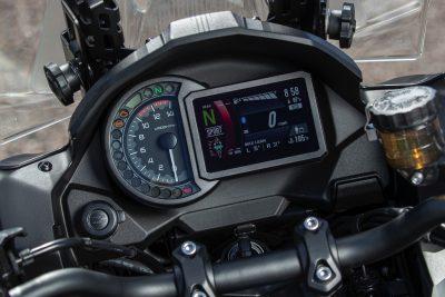 gauges Kawasaki Versys 1000